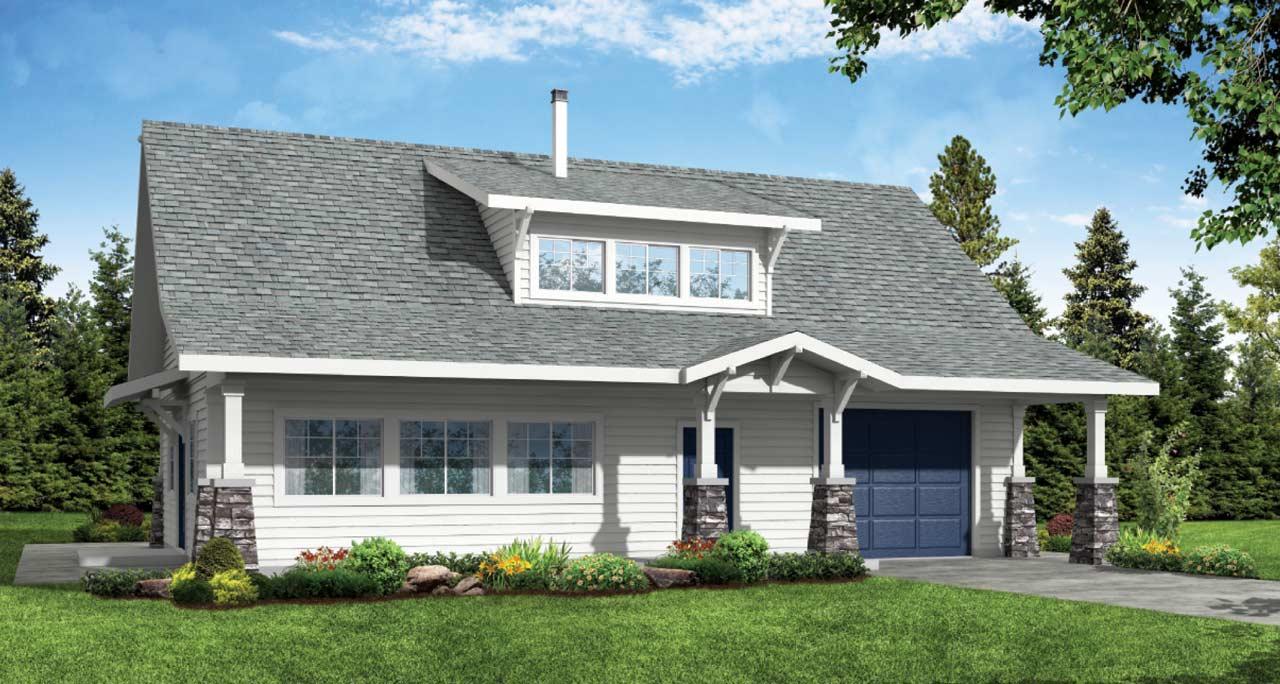 Craftsman Style Floor Plans Plan: 17-557