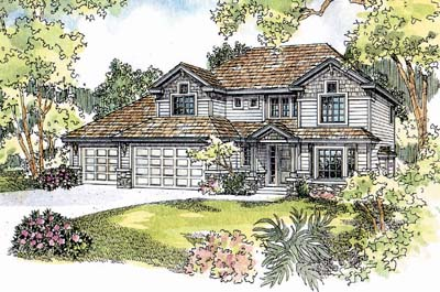 Craftsman Style House Plans Plan: 17-558