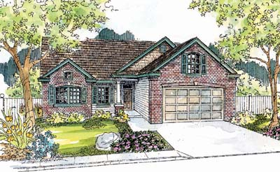Traditional Style House Plans Plan: 17-559