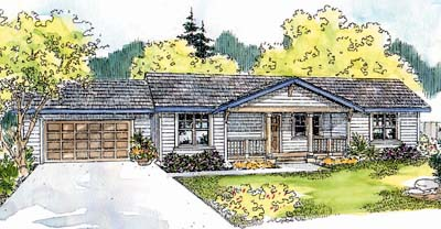 Ranch Style House Plans Plan: 17-561