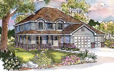 Traditional Style House Plans Plan: 17-564