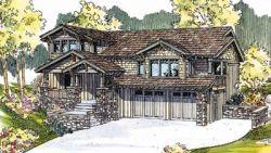 Craftsman Style Floor Plans Plan: 17-570