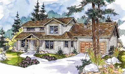 Craftsman Style House Plans Plan: 17-572