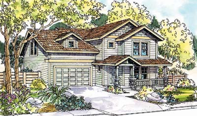 Craftsman Style House Plans Plan: 17-573