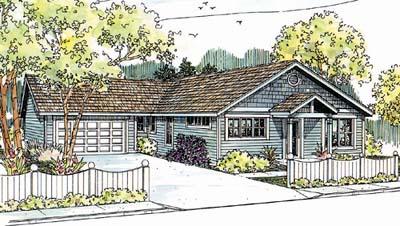 Ranch Style Floor Plans Plan: 17-574