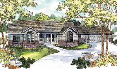 Ranch Style House Plans Plan: 17-575