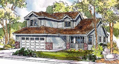 Craftsman Style Floor Plans 17-580