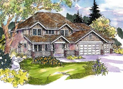 Craftsman Style Floor Plans Plan: 17-581
