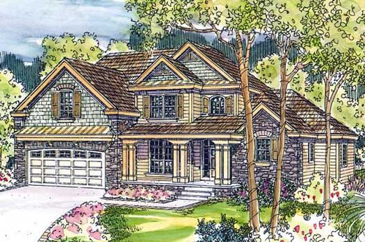 Craftsman Style House Plans Plan: 17-583