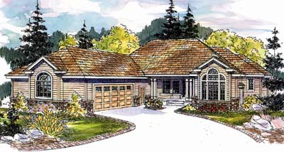 Ranch Style House Plans Plan: 17-584