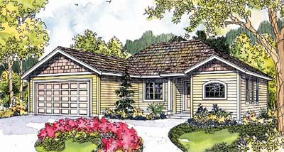 Traditional Style Home Design Plan: 17-586