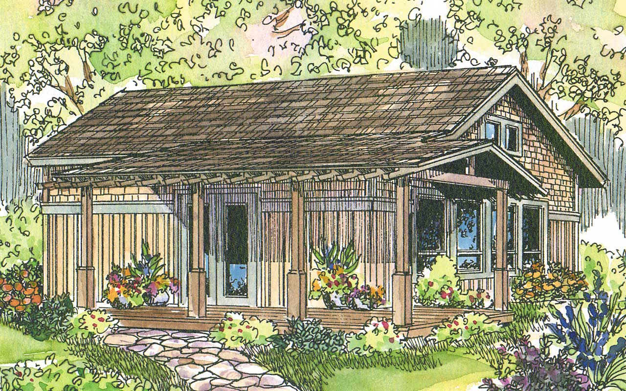 Mountain-or-rustic Style House Plans Plan: 17-589