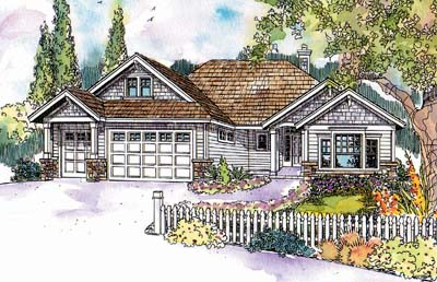 Traditional Style House Plans Plan: 17-592