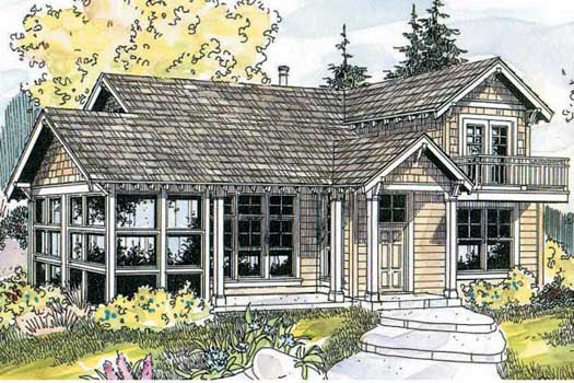 Craftsman Style House Plans Plan: 17-594