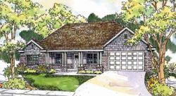 Craftsman Style Home Design Plan: 17-599