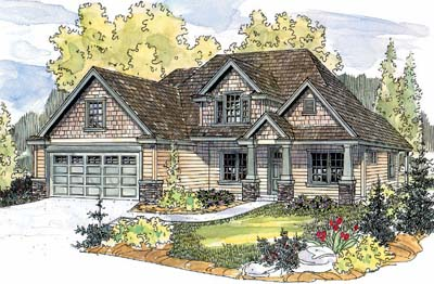 Craftsman Style House Plans Plan: 17-601