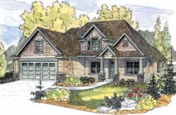 Craftsman Style House Plans Plan: 17-601