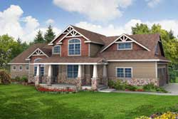 Craftsman Style Floor Plans 17-602