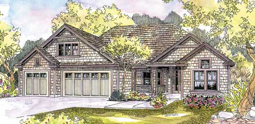 Craftsman Style House Plans Plan: 17-605