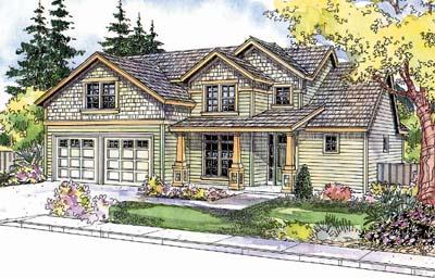 Craftsman Style House Plans Plan: 17-606
