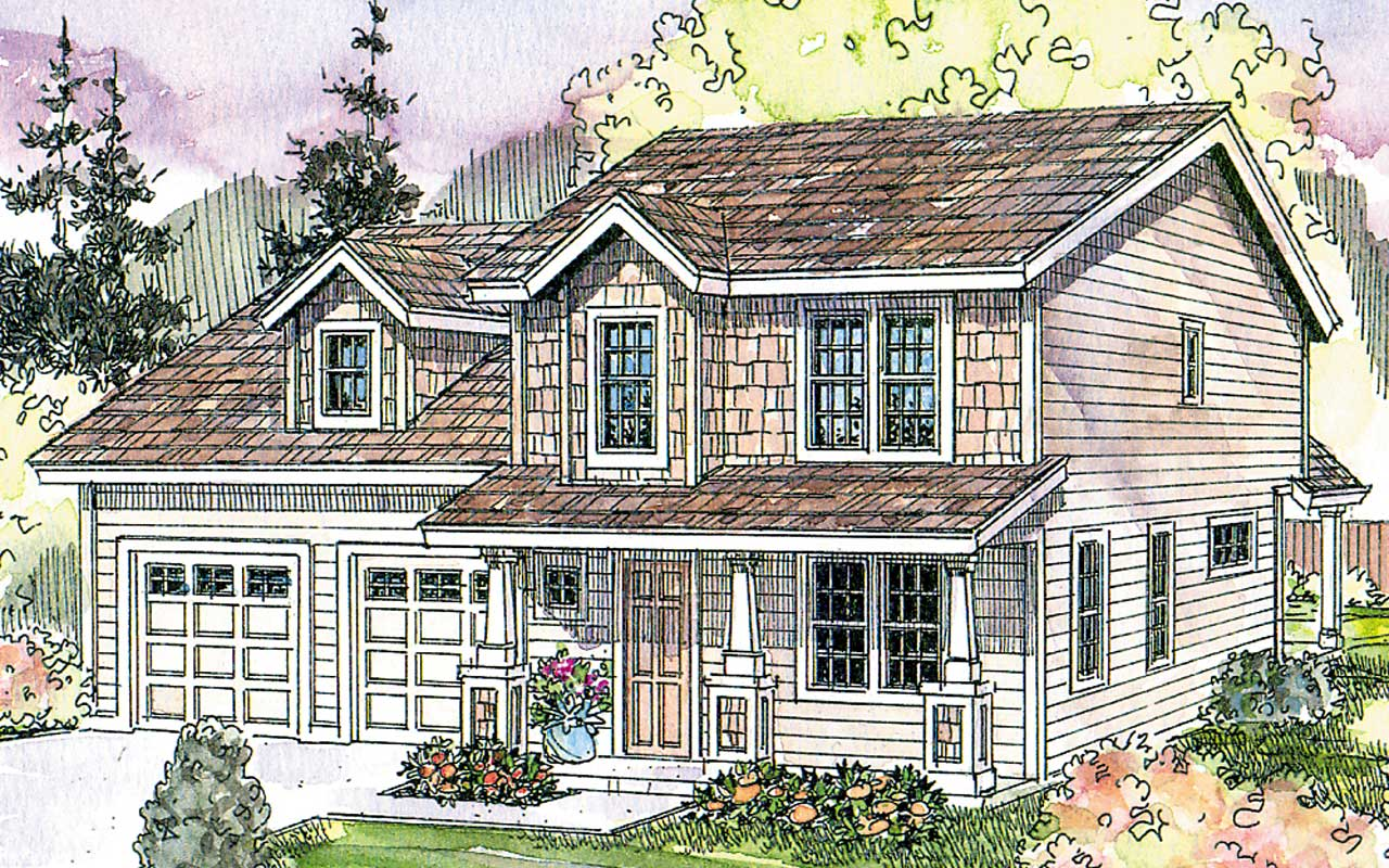 Country Style House Plans Plan: 17-608