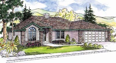 Traditional Style House Plans Plan: 17-611