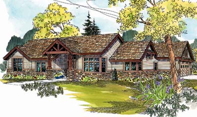 Craftsman Style House Plans Plan: 17-613