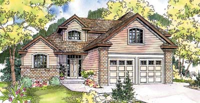 Traditional Style Floor Plans 17-614