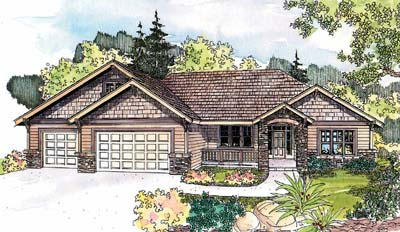 Craftsman Style House Plans Plan: 17-615