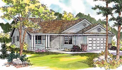 Ranch Style House Plans Plan: 17-619