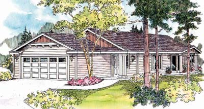 Ranch Style House Plans Plan: 17-621