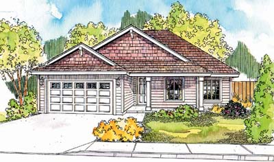 Ranch Style Floor Plans Plan: 17-623