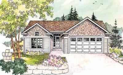 Craftsman Style Floor Plans Plan: 17-624