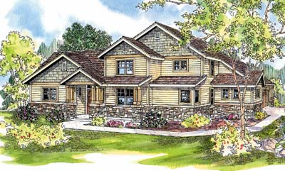 Craftsman Style House Plans Plan: 17-626