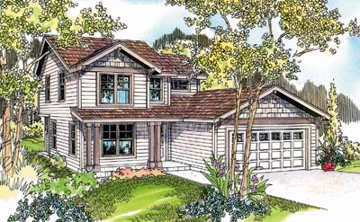 Craftsman Style Floor Plans Plan: 17-629