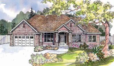 Traditional Style Floor Plans Plan: 17-631