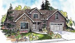 Traditional Style House Plans Plan: 17-632