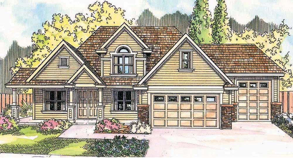 Craftsman Style House Plans Plan: 17-634