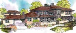 European Style Floor Plans Plan: 17-637