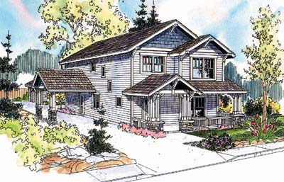 Craftsman Style House Plans 17-640