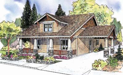 Craftsman Style House Plans Plan: 17-641