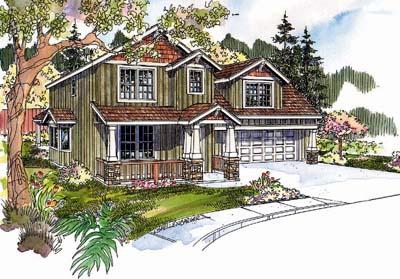 Craftsman Style House Plans Plan: 17-642