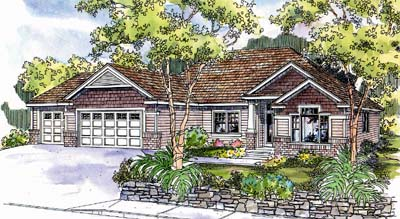 Craftsman Style House Plans Plan: 17-643
