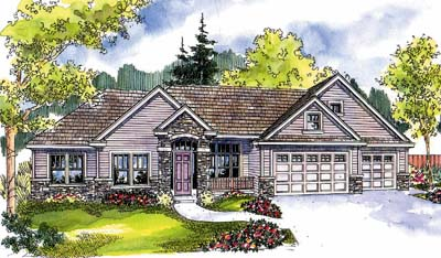 Traditional Style Floor Plans Plan: 17-644
