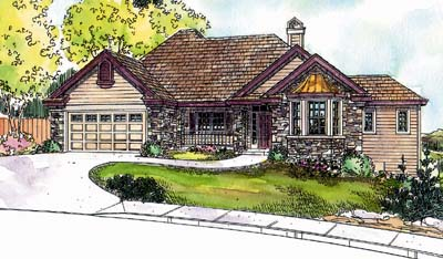 Traditional Style Floor Plans Plan: 17-647