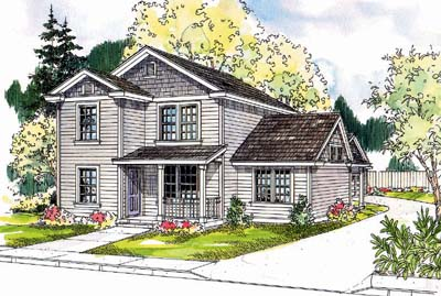 Traditional Style Home Design Plan: 17-648