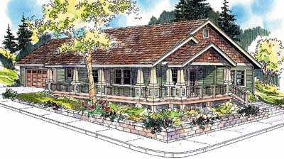 Craftsman Style House Plans Plan: 17-650