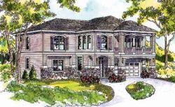 European Style House Plans Plan: 17-652