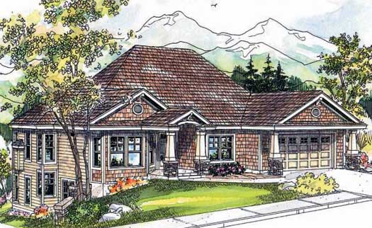 Craftsman Style House Plans Plan: 17-653