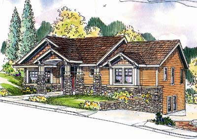 Craftsman Style House Plans Plan: 17-655